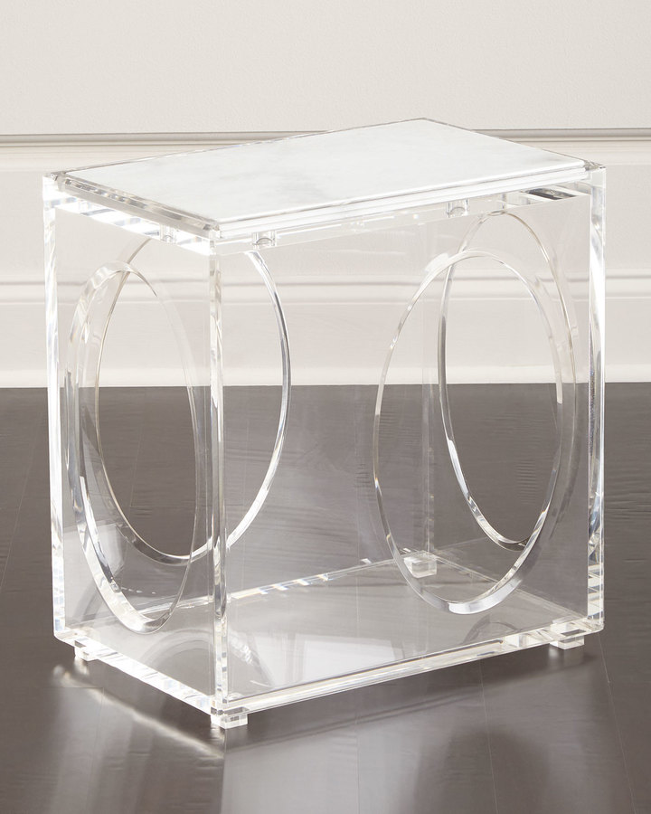 AmbellaAmbella Milly Acrylic End Table