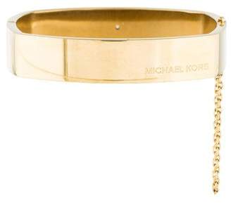 Michael Kors Heritage Logo Square Bangle