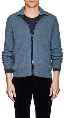Fioroni Men's Mélange Cashmere Zip-Front Sweater