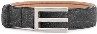 Etro E buckle belt