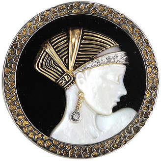 One Kings Lane Vintage Erte Love's Enchantment Brooch - Precious & Rare Pieces