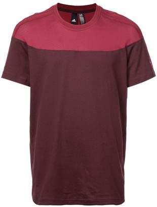 adidas colour-block T-shirt