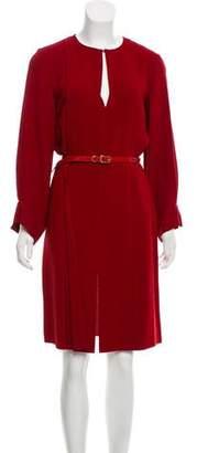Stella McCartney Long Sleeve Knee-Length Dress w/ Tags