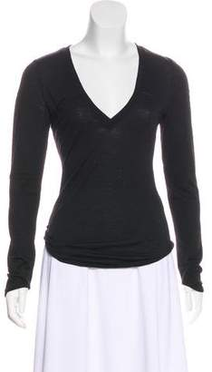 CNC Costume National Wool Long Sleeve Top