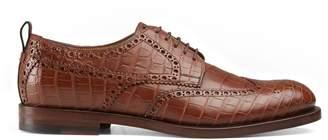 Gucci Crocodile lace-up