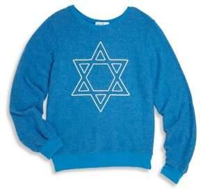 Wildfox Couture Kids Little Girl's& Girl's Star Graphic Sweatshirt