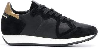 Philippe Model contrasting detail sneakers