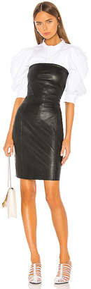 LAMARQUE Selima Leather Dress