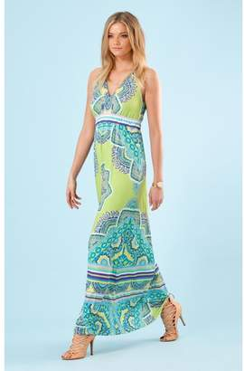 Hale Bob Sunny Halter Dress