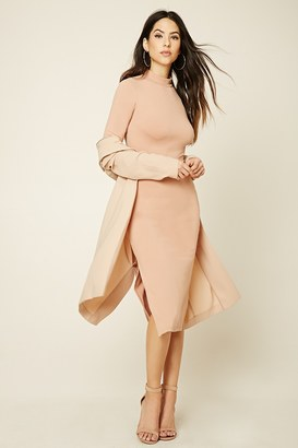 FOREVER 21+ Mock Neck Midi Dress $19.90 thestylecure.com