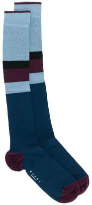 Marni colour blocked socks