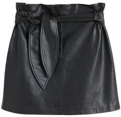 MANGO Belt miniskirt