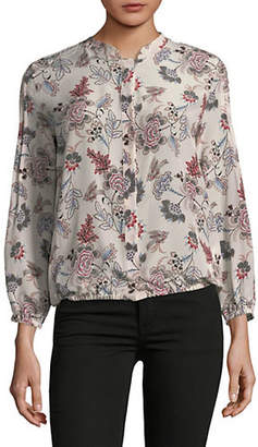 Marella Best Floral Silk Blouse