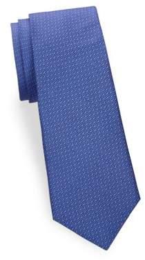 Saks Fifth Avenue Large Print Silk Tie