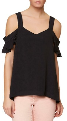 Women's Sanctuary Annie Cold Shoulder Blouse $69 thestylecure.com