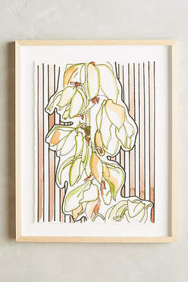 Katie Dunkle Striped Floral Wall Art