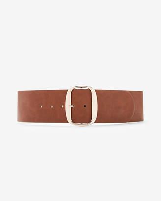 Express Wide Oval Buckle Belt