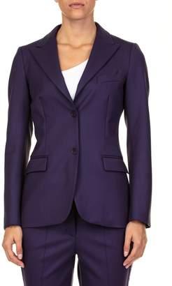 P.A.R.O.S.H. Liliu Virgin Wool Blend Jacket
