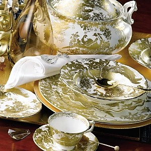 Royal Crown Derby Gold Aves Sauce Boat Stand