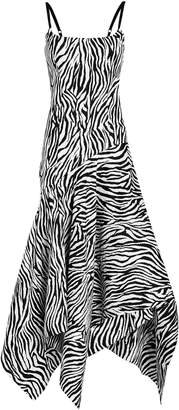 SOLACE London Marisol Bustier Printed Dress