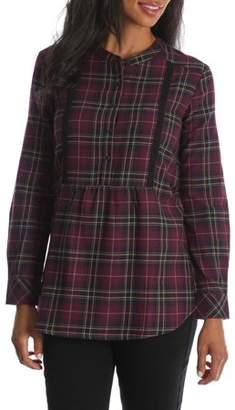 Lee Riders Women's Long Sleeve Flannel Tunic