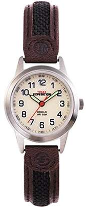 Timex Women's T41181GP Expedition Scout Metal Analog with Dial Wrist Watch