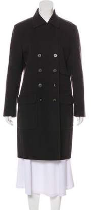 Salvatore Ferragamo Wool Knee-Length Coat