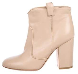 Laurence Dacade Leather Ankle Boots Tan Leather Ankle Boots