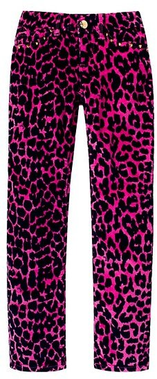 Juicy Couture Girls Animal Print Skinny Jean