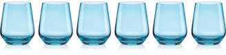 Lenox Closeout! Tuscany Color Stemware Collection, Set of 6 Stemless Wine Glasses