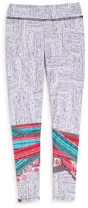 Onzie Girls' Geometric-Print Leggings - Little Kid, Big Kid