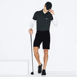 d7174263d127b Lacoste Men s SPORT Stretch Taffeta Technical Golf Bermuda Shorts