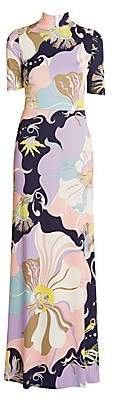 Emilio Pucci Women's Mirabilus Jersey Maxi Dress