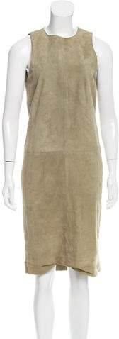 Ralph Lauren Suede Midi Dress