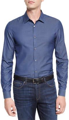 Michael Kors Italian-Woven Sport Shirt
