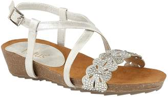 4b6bf969fa8b Next Womens Lotus Diamanté Toe Post Sandals