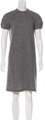 CNC Costume National Wool Knee-Length Dress