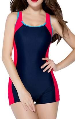 45272656ec52e BeautyIn swimsuits for women bathing suits one piece swimsuit ladies  swimwear
