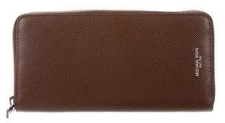 Michael Kors Leather Zip Wallet