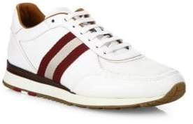 Bally Aston Leather Low-Top Sneakers