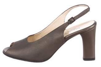 Taryn Rose Slingback Peep-Toe Pumps