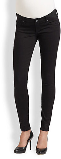 Paige Union Maternity Denim Leggings