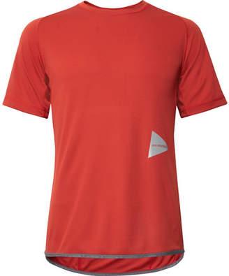 And Wander Tech-Jersey T-Shirt