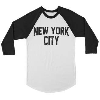 Ringspun NYC FACTORY Unisex Raglan Tee John Lennon T-Shirt New York City  Soft Shirt 515ba2351ac0