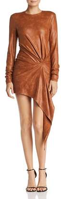 Ronny Kobo Haddasah Asymmetric Mini Dress