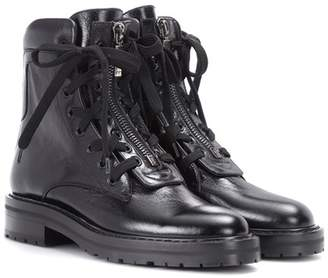 Saint Laurent William 25 leather ankle boots