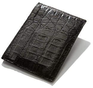 Santiago Gonzalez Crocodile Card Case