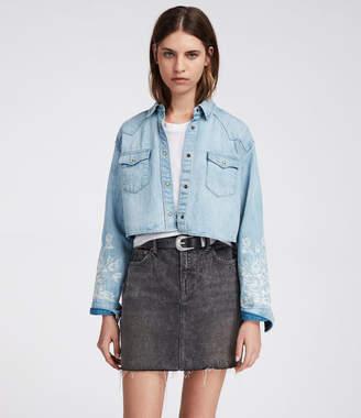 AllSaints Flora Cannon Shirt