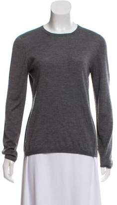 Christian Dior Cashmere Long Sleeve Sweater Grey Cashmere Long Sleeve Sweater