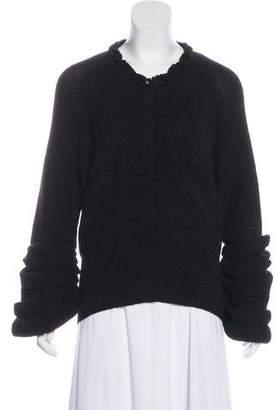 Valentino Wool & Alpaca Cardigan